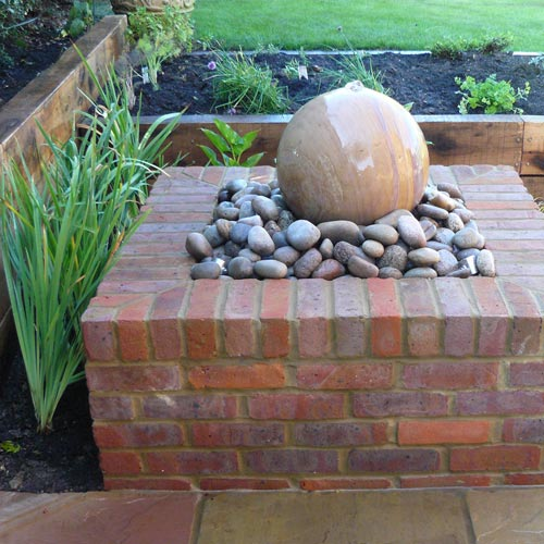 Raised Water Feature